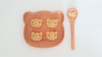 rilakkuma-oatmeal-cookies