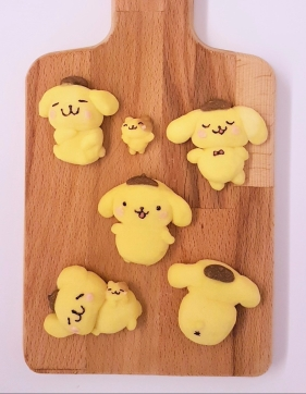 pompompurin-german-butter-cookies