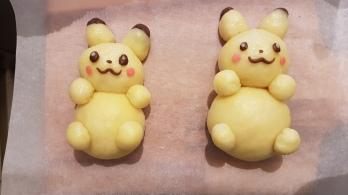 pikachu bun shape