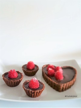 delicious raspberry with dark chocolate filling