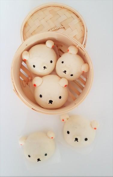 rilakkuma-steamed-buns
